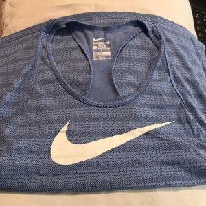 Nike workout tank. Athletic cut. Dri-fit.